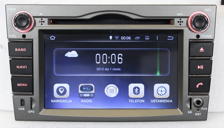 radio nawigacja gps opel vectra c 2002 2008 auto. Black Bedroom Furniture Sets. Home Design Ideas