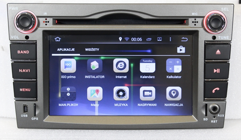 radio nawigacja gps opel zafira b 2005 2014 auto. Black Bedroom Furniture Sets. Home Design Ideas